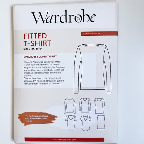 Wardrobe by Me : Fitted Wardrobe Builder T-Shirt sewing pattern