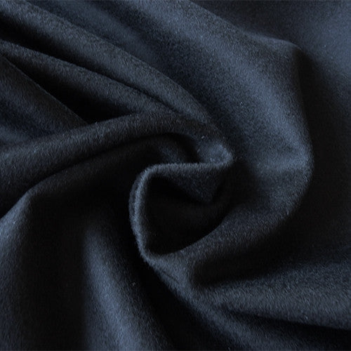 Wool Melton - Black