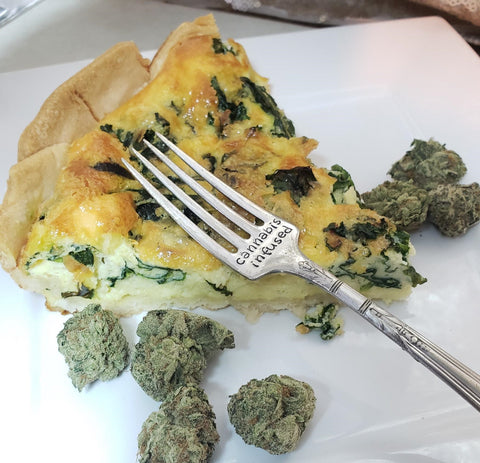 Cannabis Infused Stamped Fork