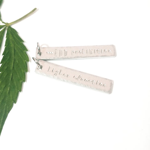 Customized Stamped Charm Tag
