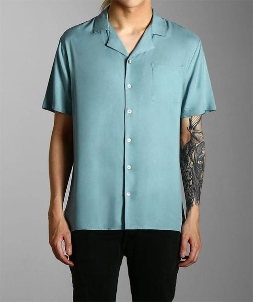 Blue Cuban Shirt