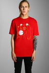 Paradice Lazer Girl Graphic Tee Red
