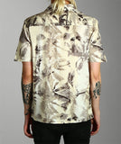 Palm Print Cuban Shirt