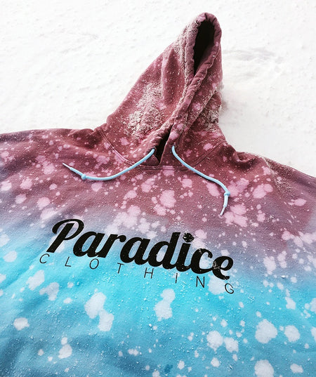 Paradice Navy Constellations Check Shacket
