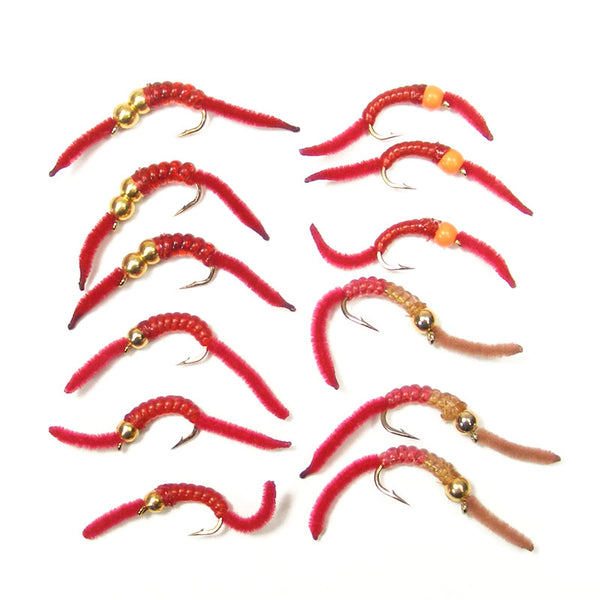 San Juan Worm Power Bead Trout Fly