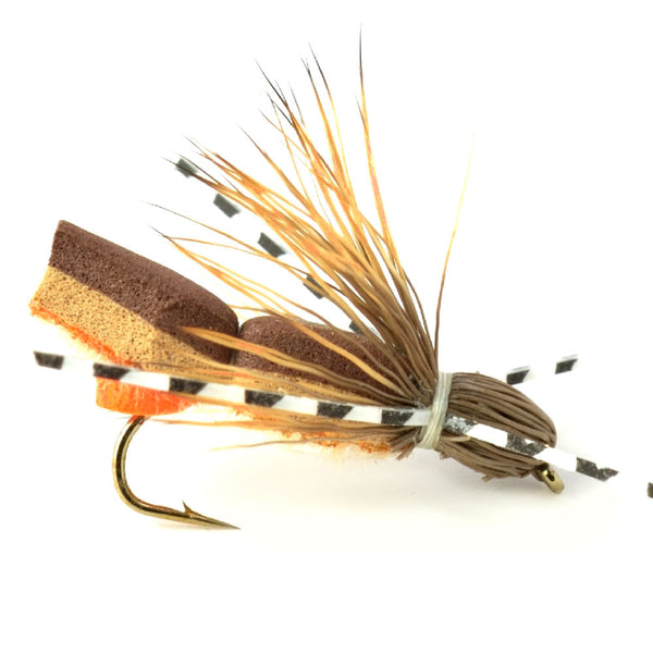 Bullethead Cicada Hopper Foam Body Grasshopper Fly - Hook Size 10