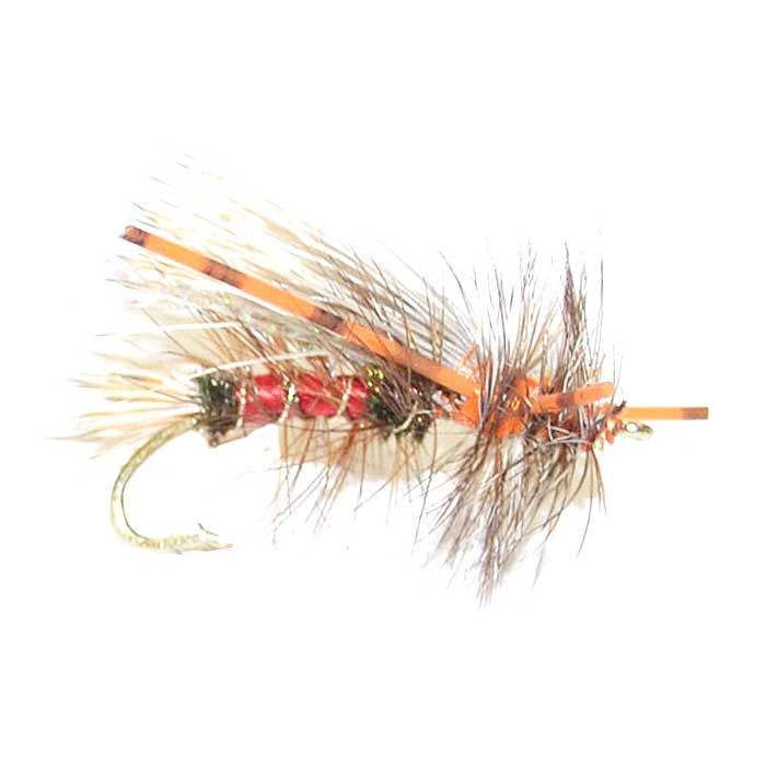 Kaufmann's Royal Crystal Stimulator Rubber Legs Dry Fly - Hook Size 10