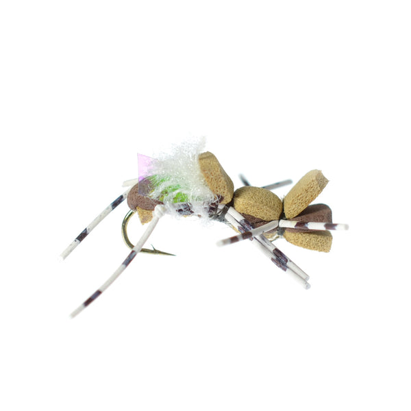 Fat Albert Foam Body Grasshopper Fly - Hook Size 10