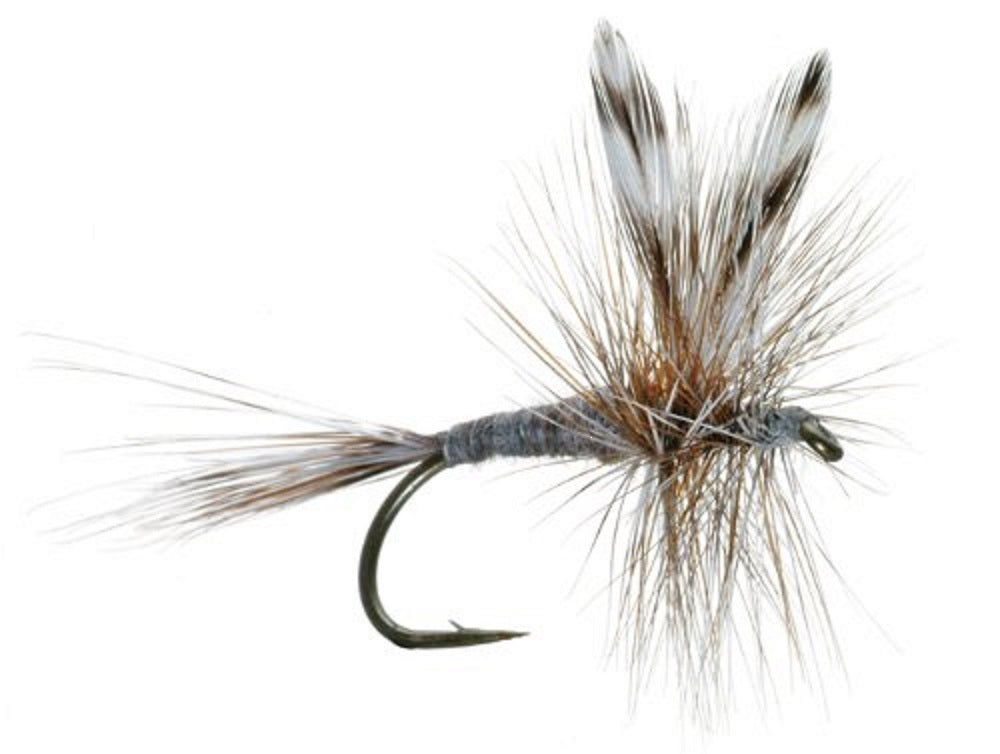 The Fly Fishing Place Basics Collection - Classic Dry Fly Assortment - 10 Dry Fishing Flies - 5 Patterns - Hook Sizes 12, 14, 16