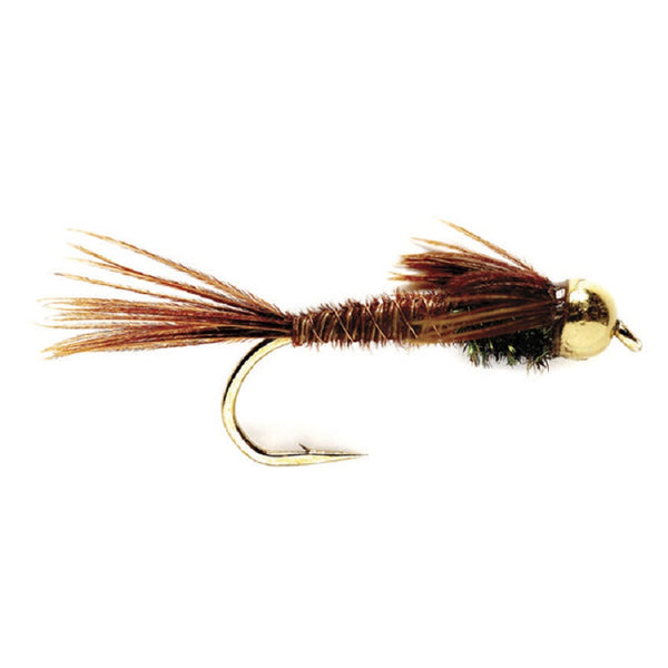 Bead Head Pheasant Tail Nymph Fly Fishing Flies Hook Size 18