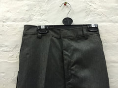 668-School Zip trousers