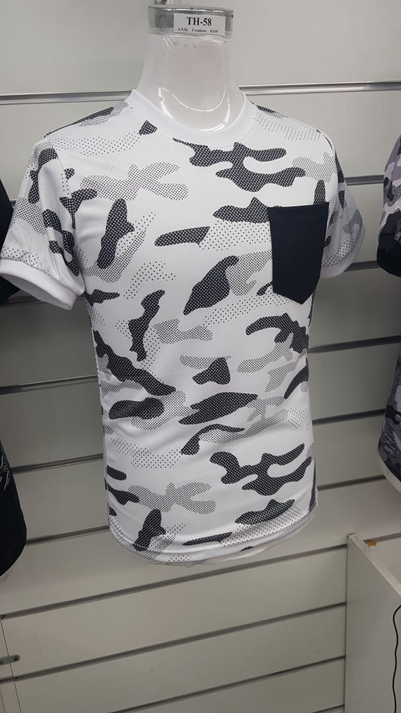 013 Mens Camo Top Pocket