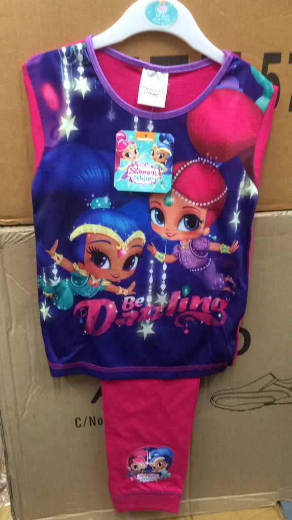 214- Girls Shimmer and Shine Pjs