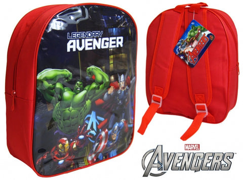 "331-Official Marvel Comic ""Avengers"" Character Junior School Backpack - 21138"