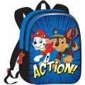 "323-PWP15-8039-8 Official PAW Patrol ""Chase And Marshall"" Character Junior School Backpack - 21113"