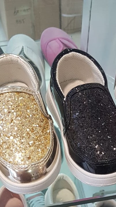 109-Girls glitter Shoes