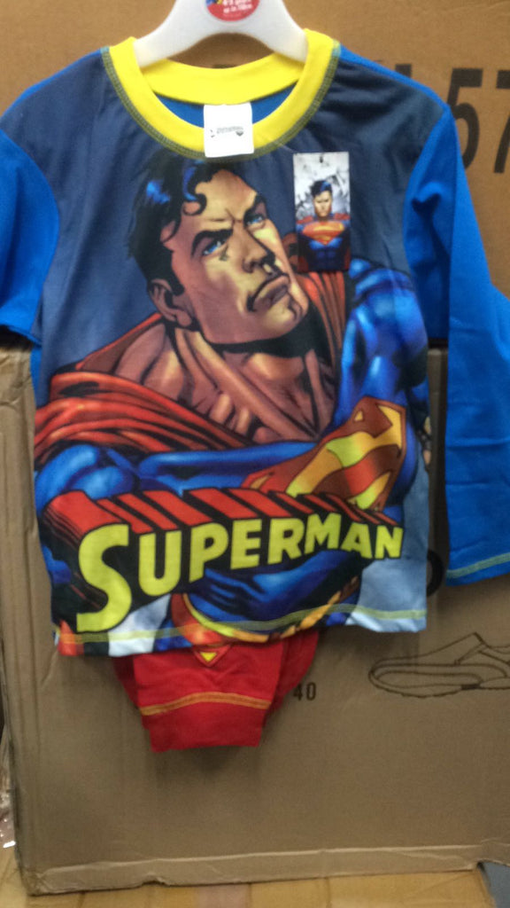 205- Boys Superman Pjs