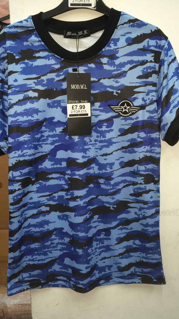 012 Mens Camo Top Badge