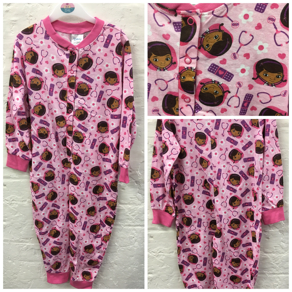 Girls Doc McStuffins cotton Onesie