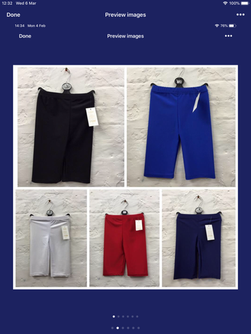 010- Ladies Lycra cycle shorts