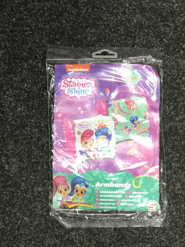 733- Shimmer and shine arm Bands swimming