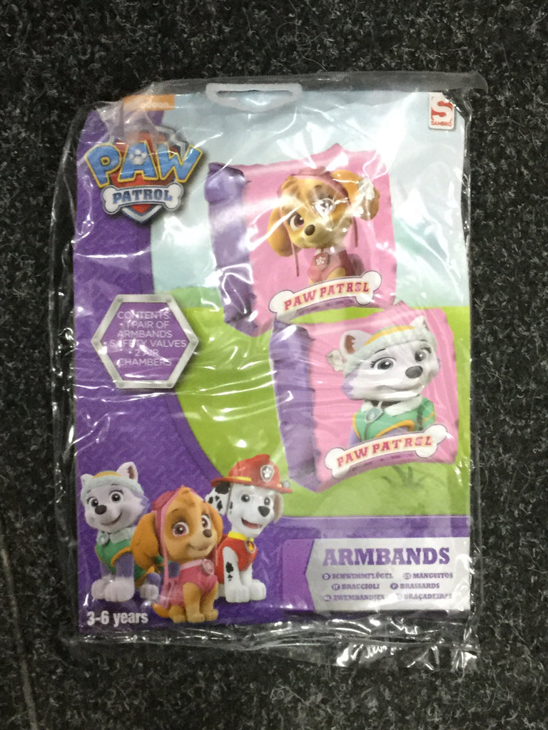 734- Paw patrol arm Bands swimming