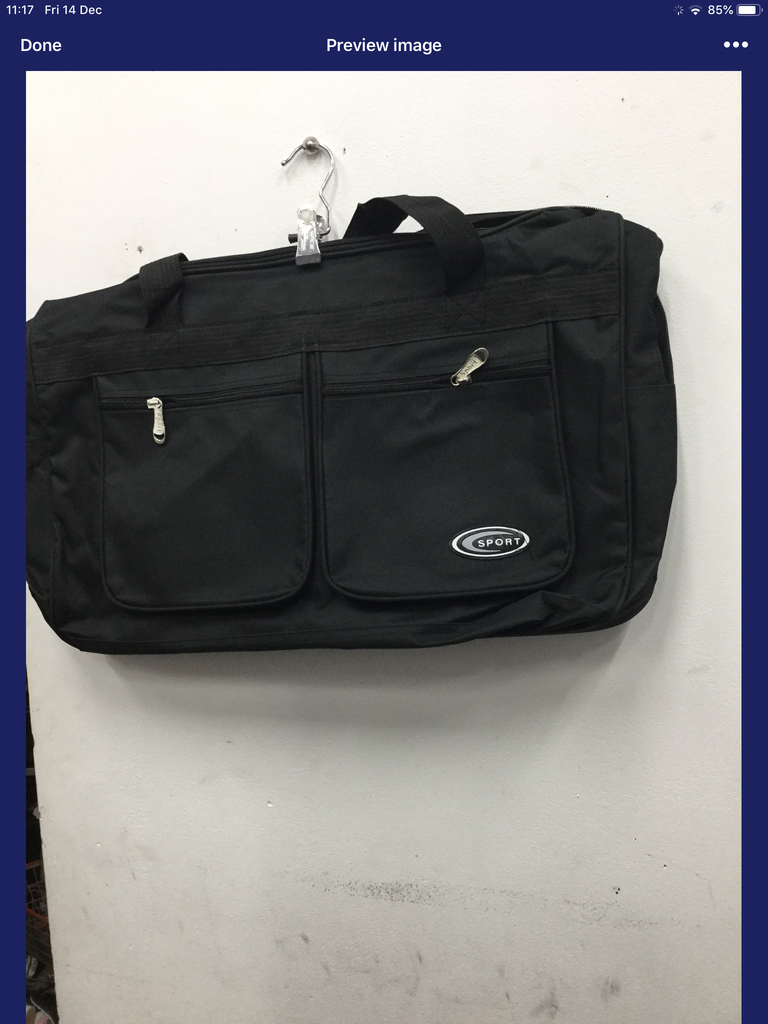 580- super big gym hand carry bag