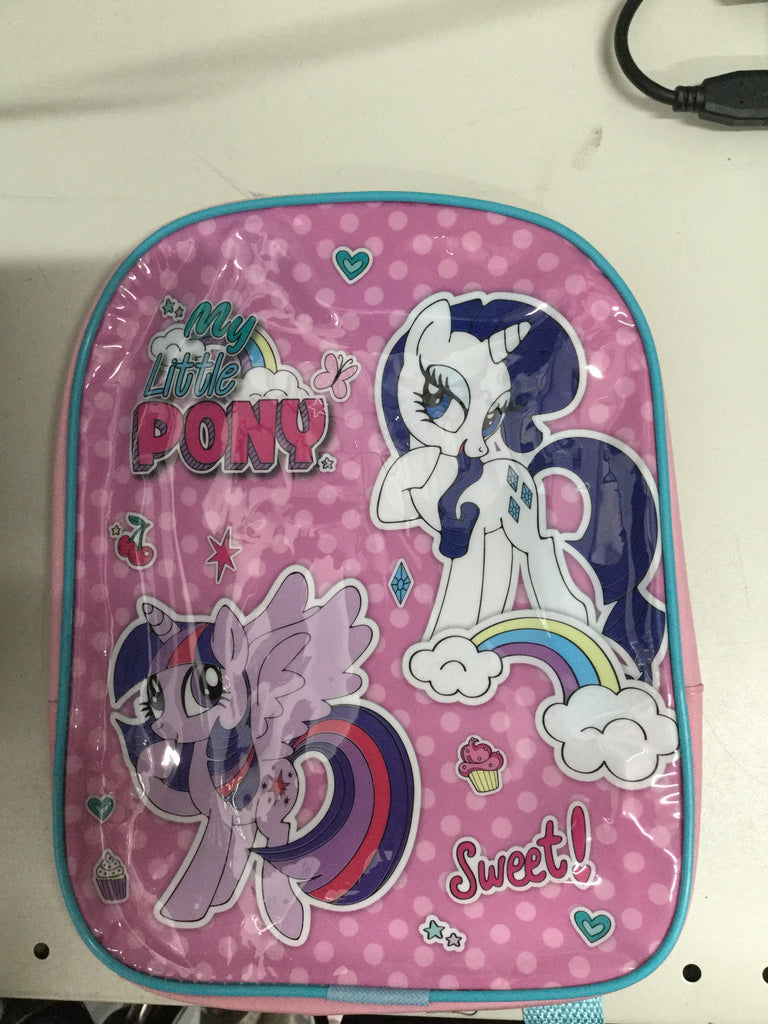 700- official Character 'my little pony' Junior School Backpack