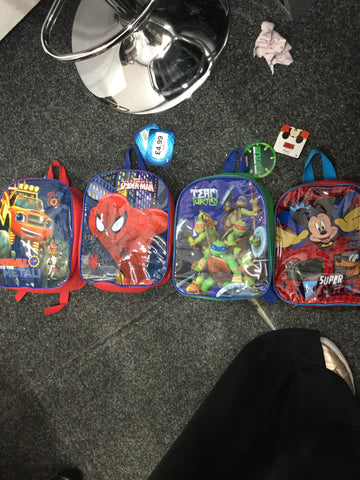 699-official Character Junior School Backpack