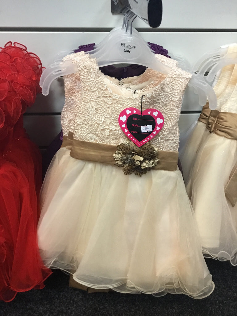 405-Baby girls partywear dresses G666