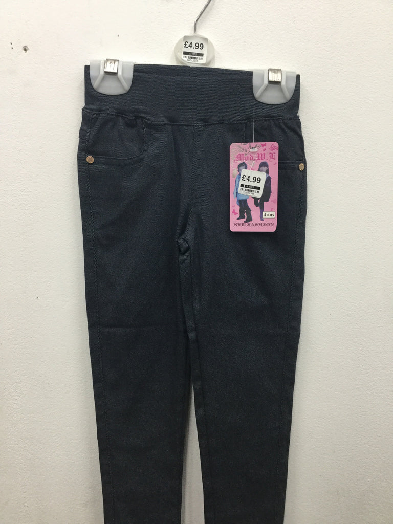 660-Girls Jeggings assorted camp and denim style