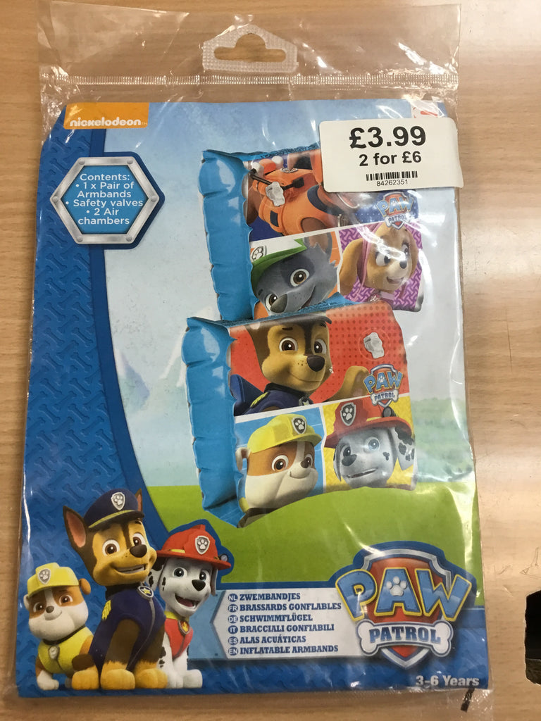 706-Paw Patrol Arm Bands