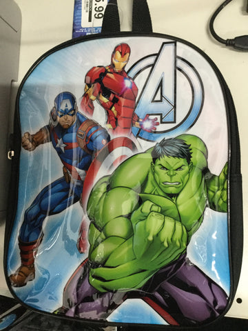 "695-official Comic ""Avengers"" Character Junior School Backpack"