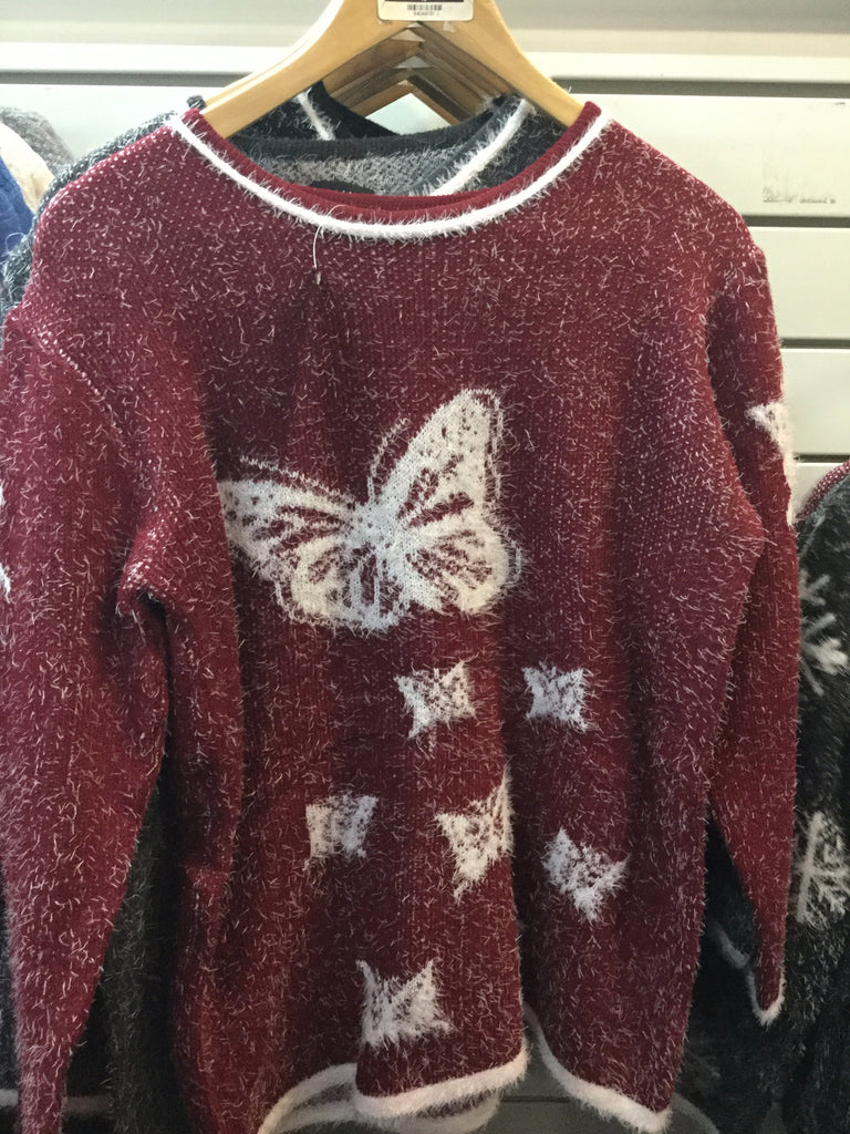 473- Ladies  butterfly jumpers