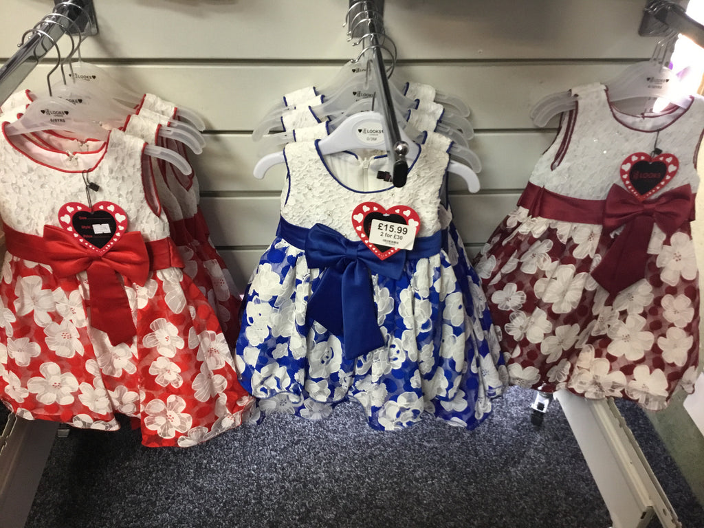 404-Baby girls partywear dresses- 1594