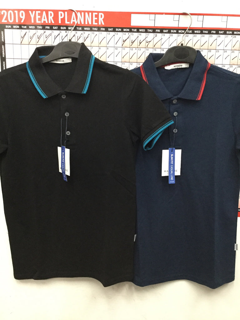 749- Manche Polo shirts with collar