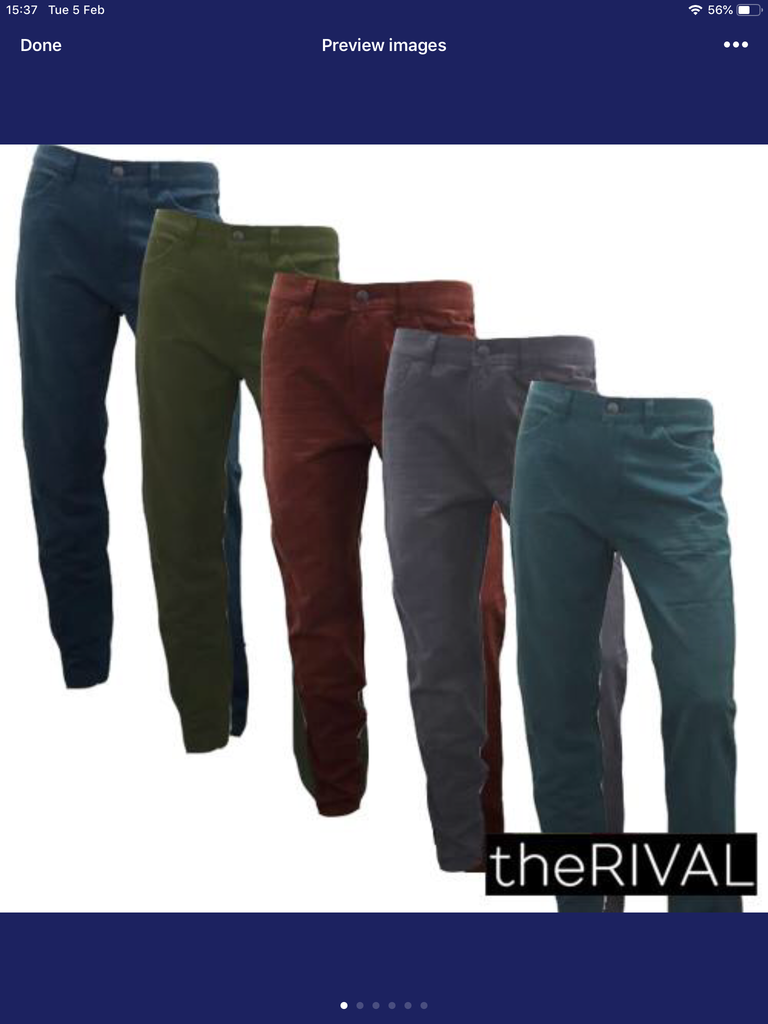 664-Assorted faded jeans