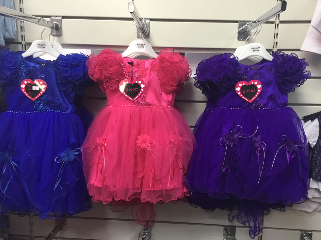 406-Baby girls partywear dresses 040