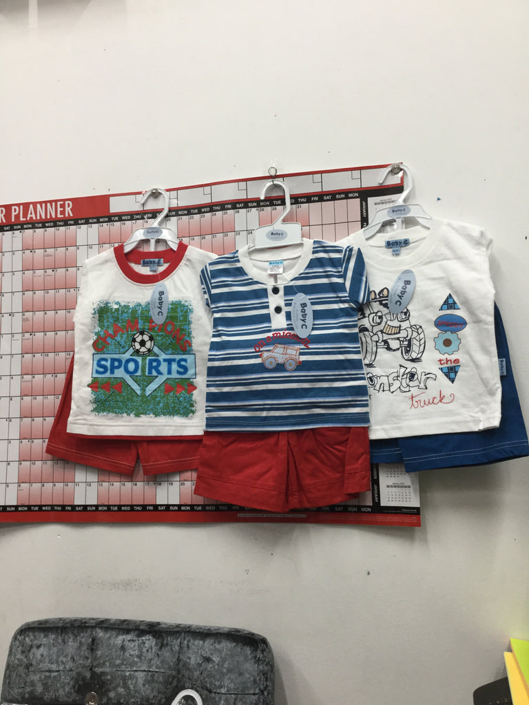 149- Boys assorted short set