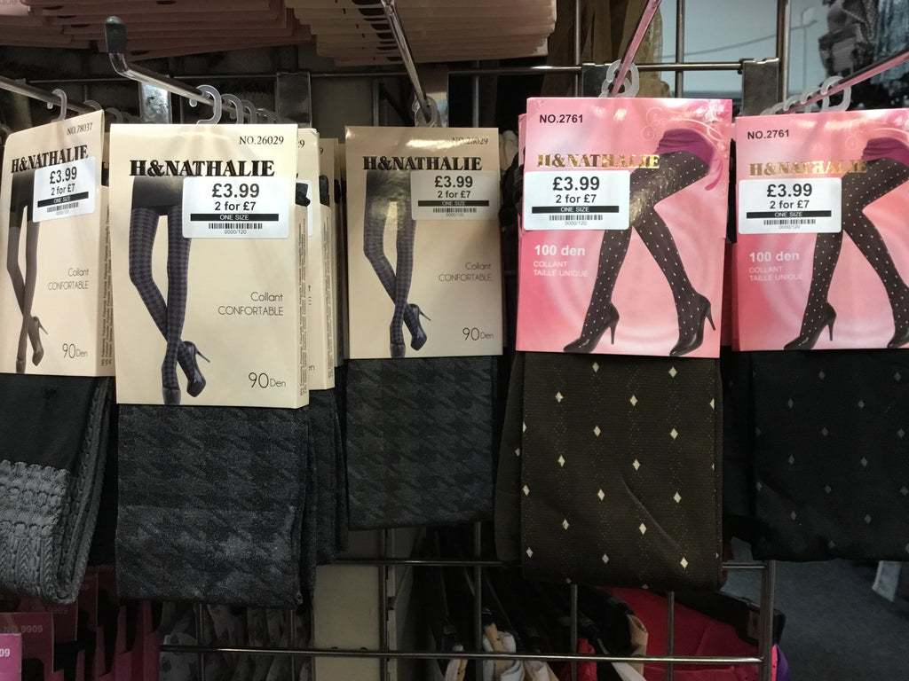 614- Ladies asssorted tights