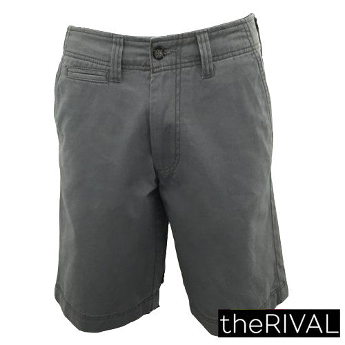 643-Men's  Plain Shorts (grey, blue ,orange, khaki)