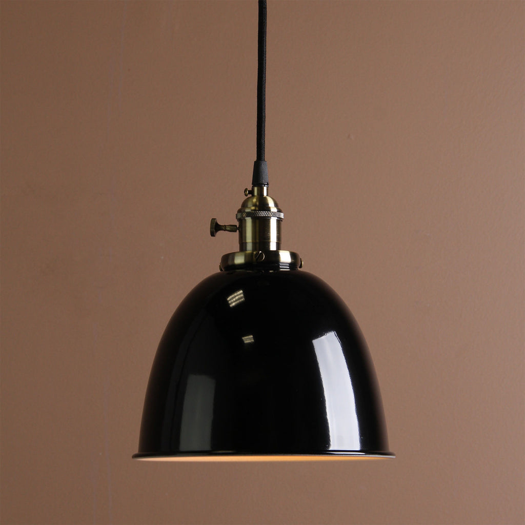 Bell Shaped Industrial Style - Indoor Ceiling Pendant Metal Lamp
