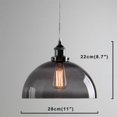 Ceiling Glass Lamp 03