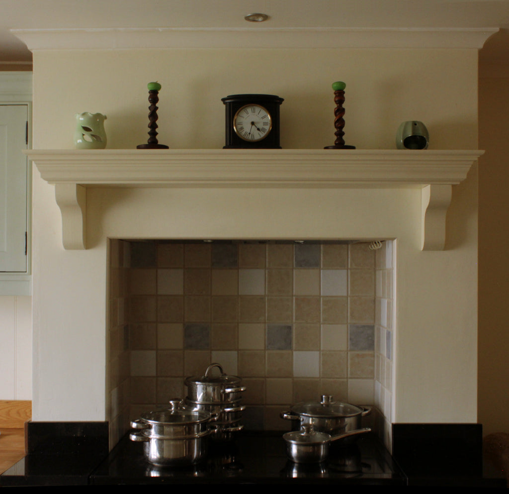fireplace mantel corbels. Handmade Victorian Solid Wood Mantel Piece  Floating Shelf with Corbels