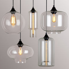 Ceiling Glass Lamp 01