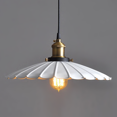 French Umbrella Style - Indoor Ceiling Pendant Metal Lamp