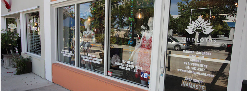 Exterior | Storefront | Wild Lotus, LLC® | West Palm Beach, FL | Northwood Village