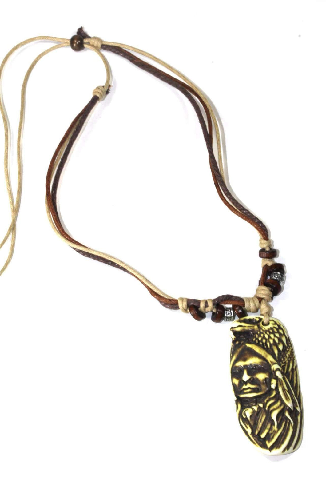 Native Indian & Wild Eagle Boho Style Necklace