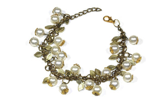 Blooming Pearls Bracelet