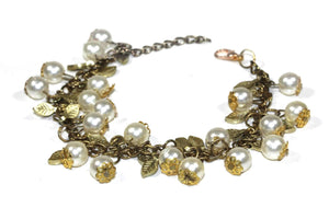 Blooming Pearls Bracelet by Wild Lotus